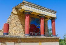 Knossos Heraklion Crete