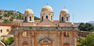 Holy Trinity Monastery Chania Crete- allincrete.com