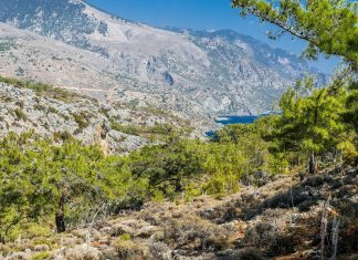 Lissos Gorge Chania Crete - allincrete.com