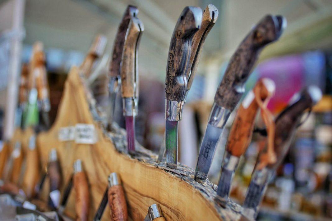 Various Cretan Knives Crete