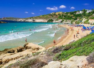 Kalathas Beach Chania Crete - allincrete.com