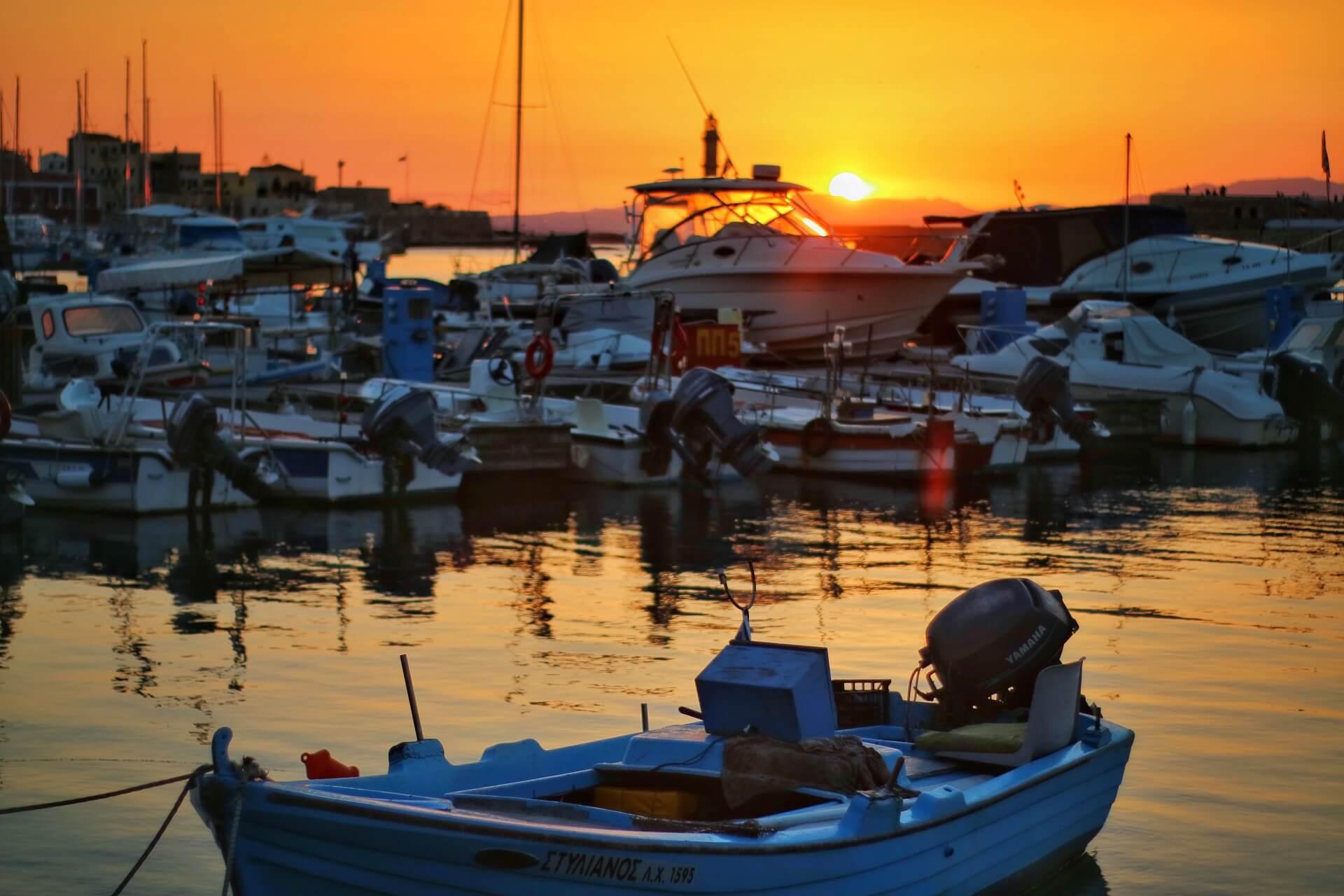 Chania Old Venetian Port Crete - allincrete.com