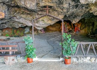 Agios Ioannis Saint John Damialis Church and Cave Chania - allincrete.com