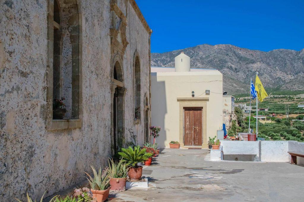 Chrisoskalitissa Monastery Elafonisi Chania Crete - allincrete.com