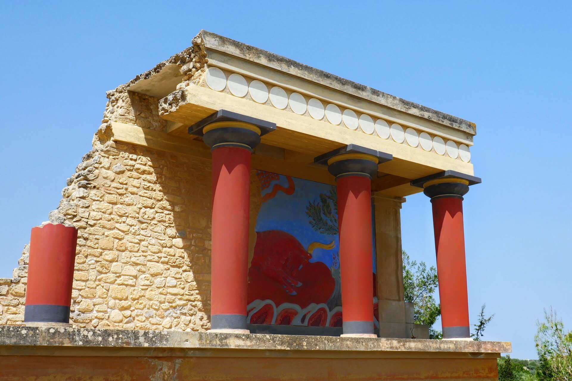 Knossos Heraklion Crete - allincrete.com