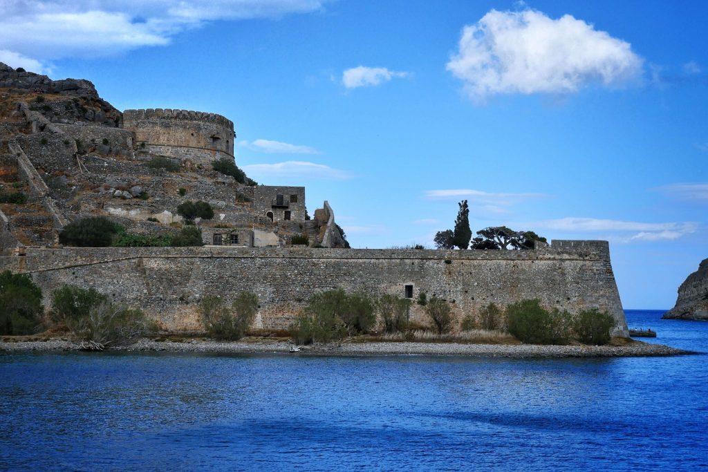 Spinalonga Fortress Lassithi Crete