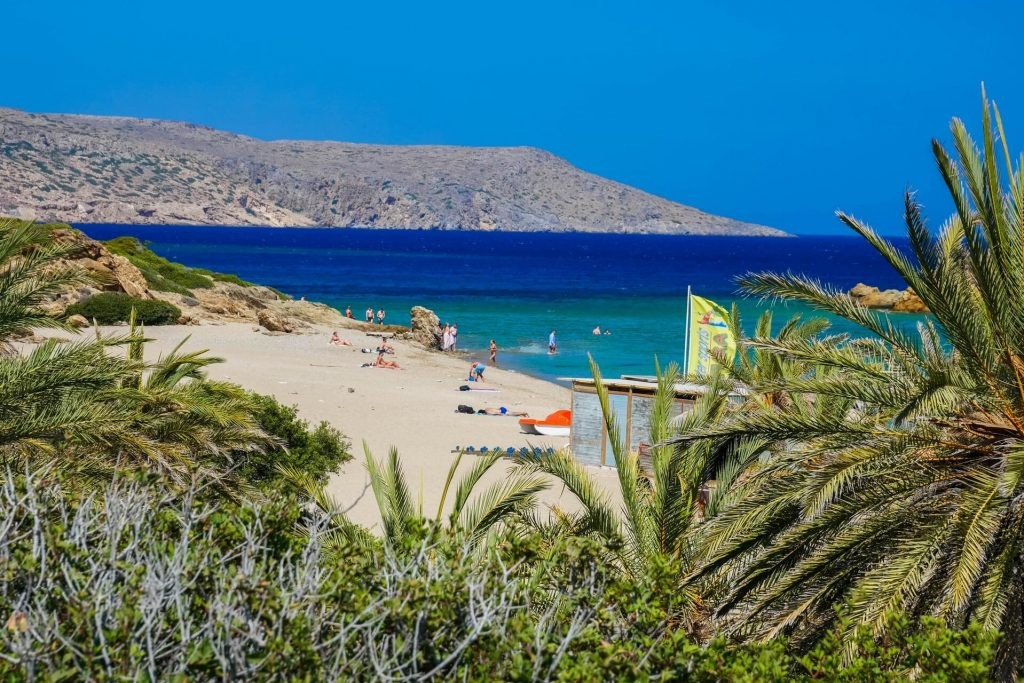 Vai Beach (Finikodasos) beach Sitia Lasithi Crete - allincrete.com