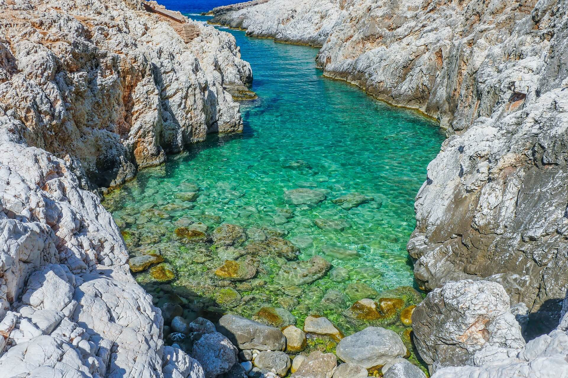 Katholiko Beach Chania Crete 7 slider - allincrete.com