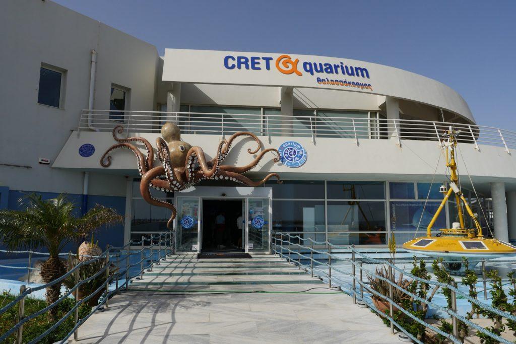 CretAquarium Thalassokosmos Heraklion Crete