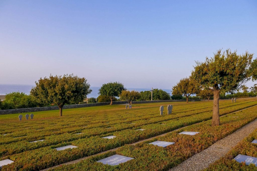 World War II German Cemetery Chania Crete - allincrete.com