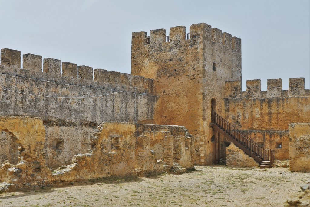 Frangokastello Fortress Chania Crete