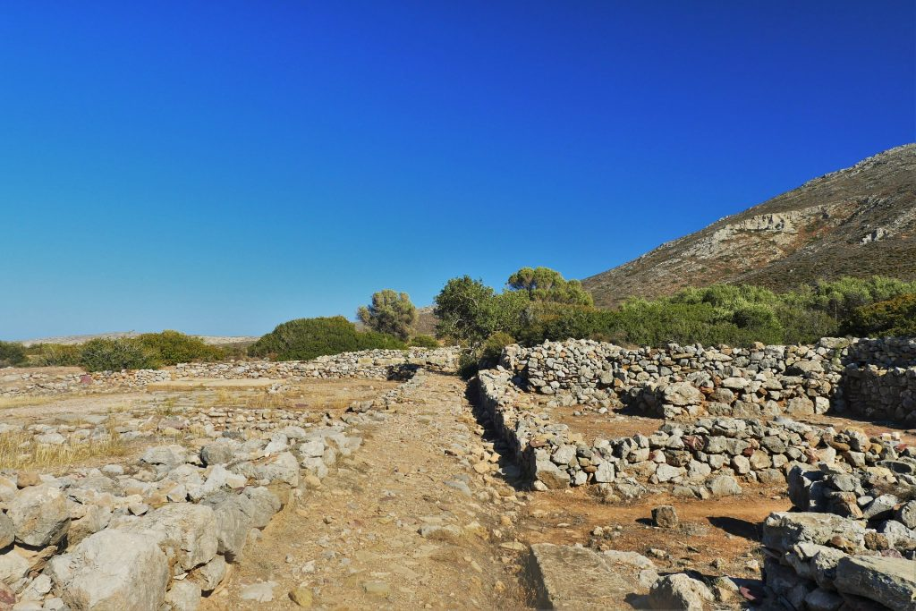 Palaikastro Archaeological Site Sitia Crete