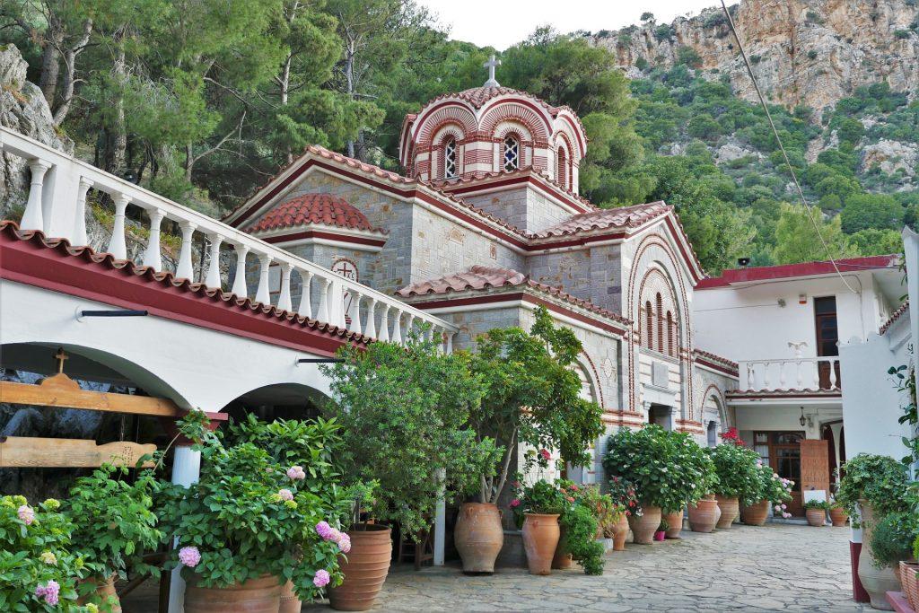 St. George Selinari Monastery Lassithi Crete