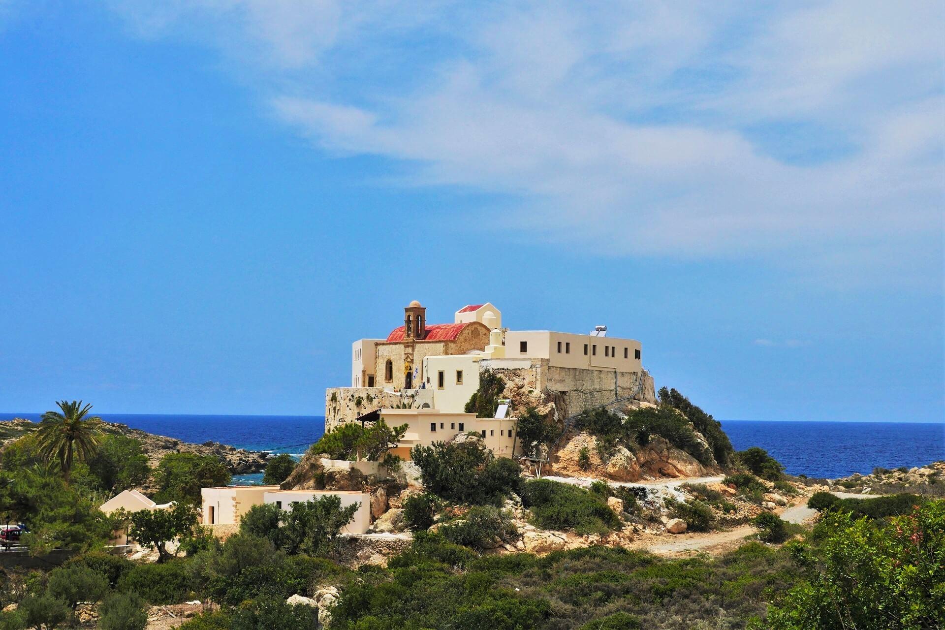Chrissoskalitissa Monastery Chania Crete