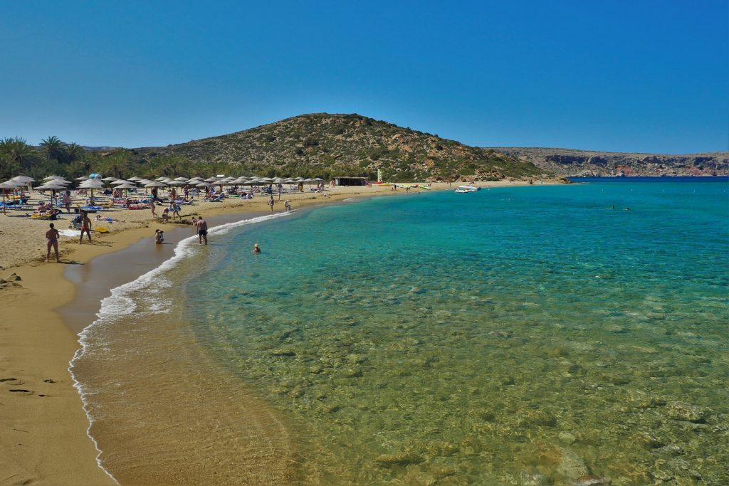 Vai Beach (Finikodasos) beach Sitia Crete - allincrete.com
