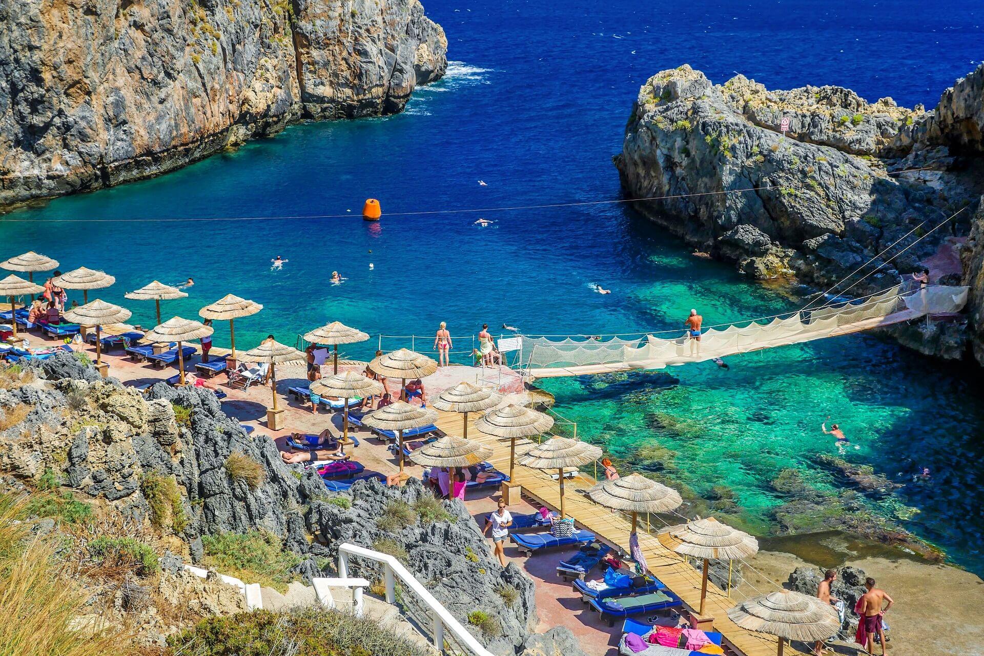 Kalypso Beach Rethymno Crete - allincrete.com