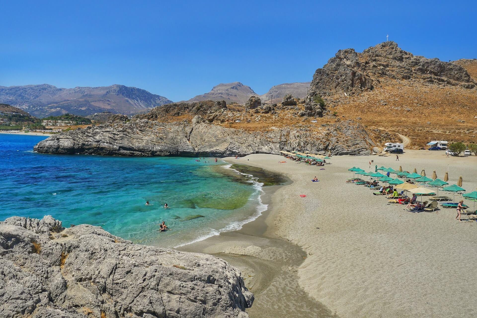 Ammoudi Beach Rethymno Crete