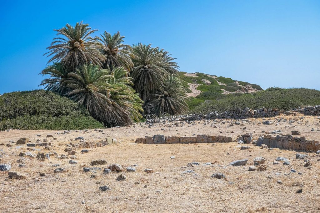 Itanos Archaerological Site Lasithi Crete Greece - allincrete.com