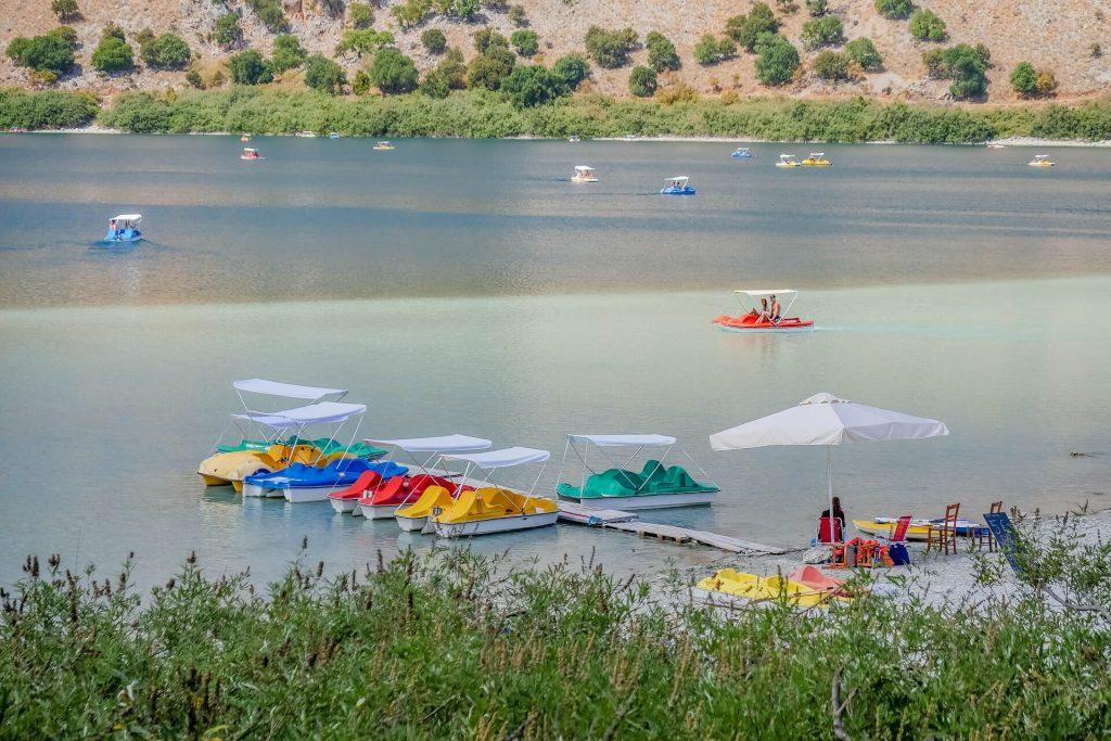 Kournas Lake Chania Crete - allincrete.com