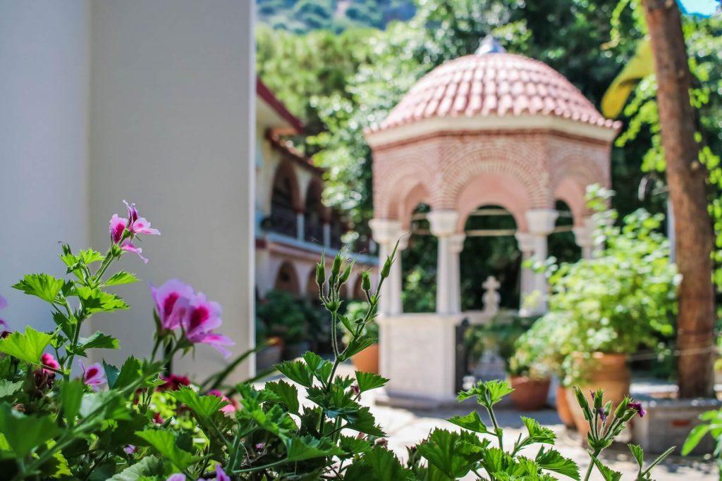 St. George Selinari Monastery Lassithi Crete - allincrete.com