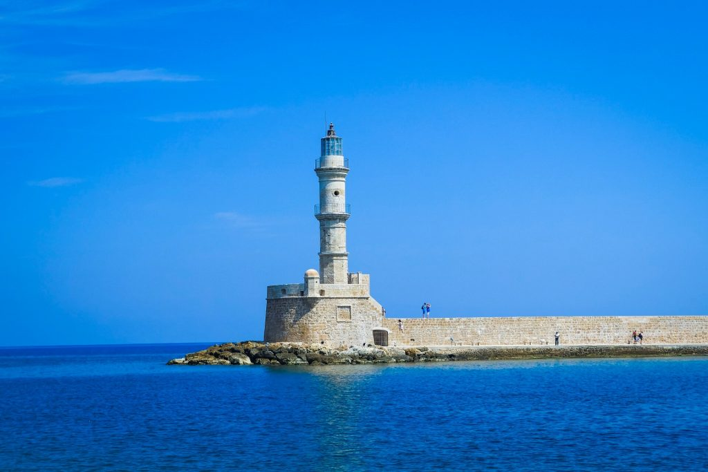 Old Venetian Harbour Chania Crete