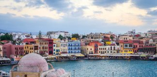 Old Venetian Harbour Chania Crete