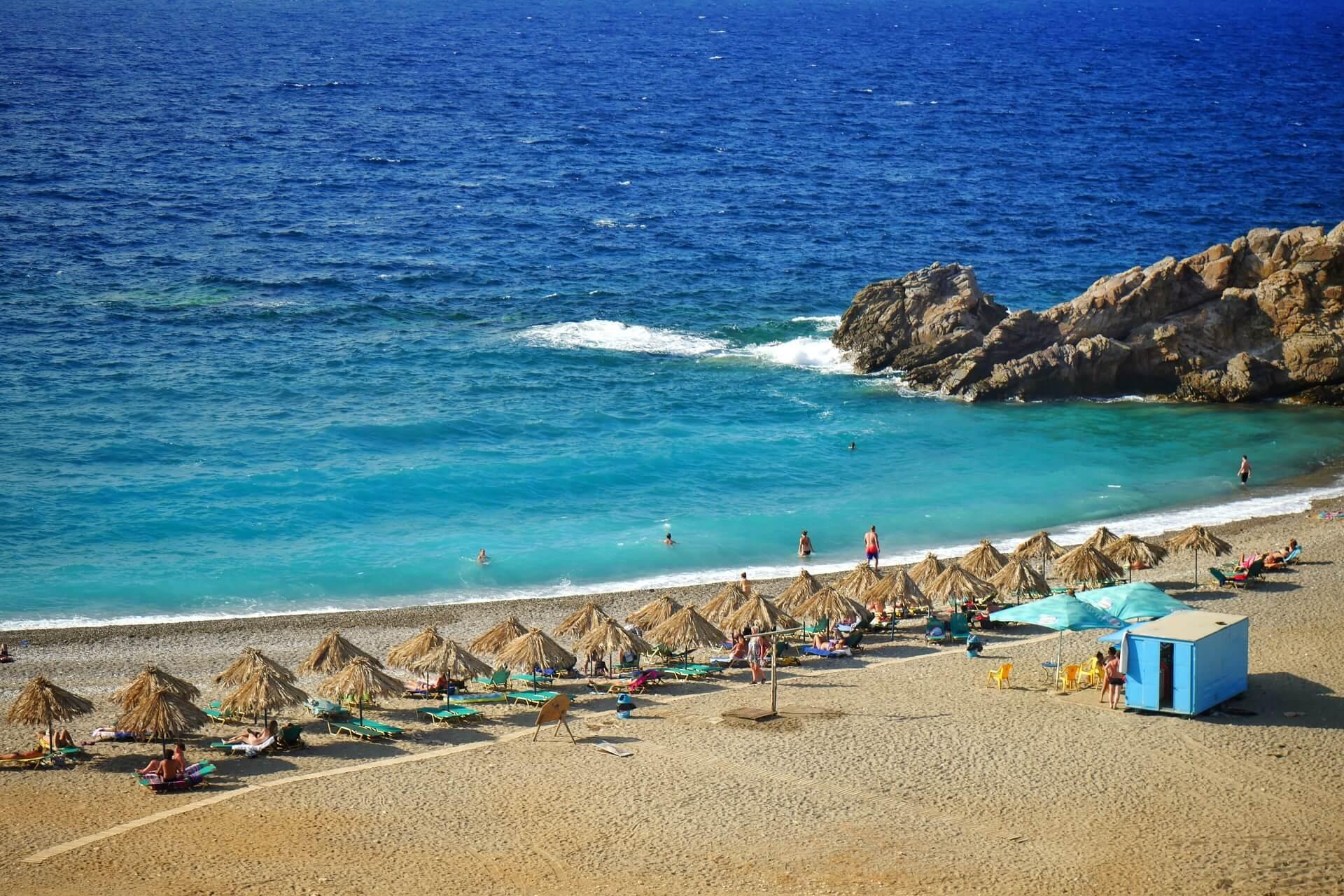 Geropotamos Beach Rethymno Crete