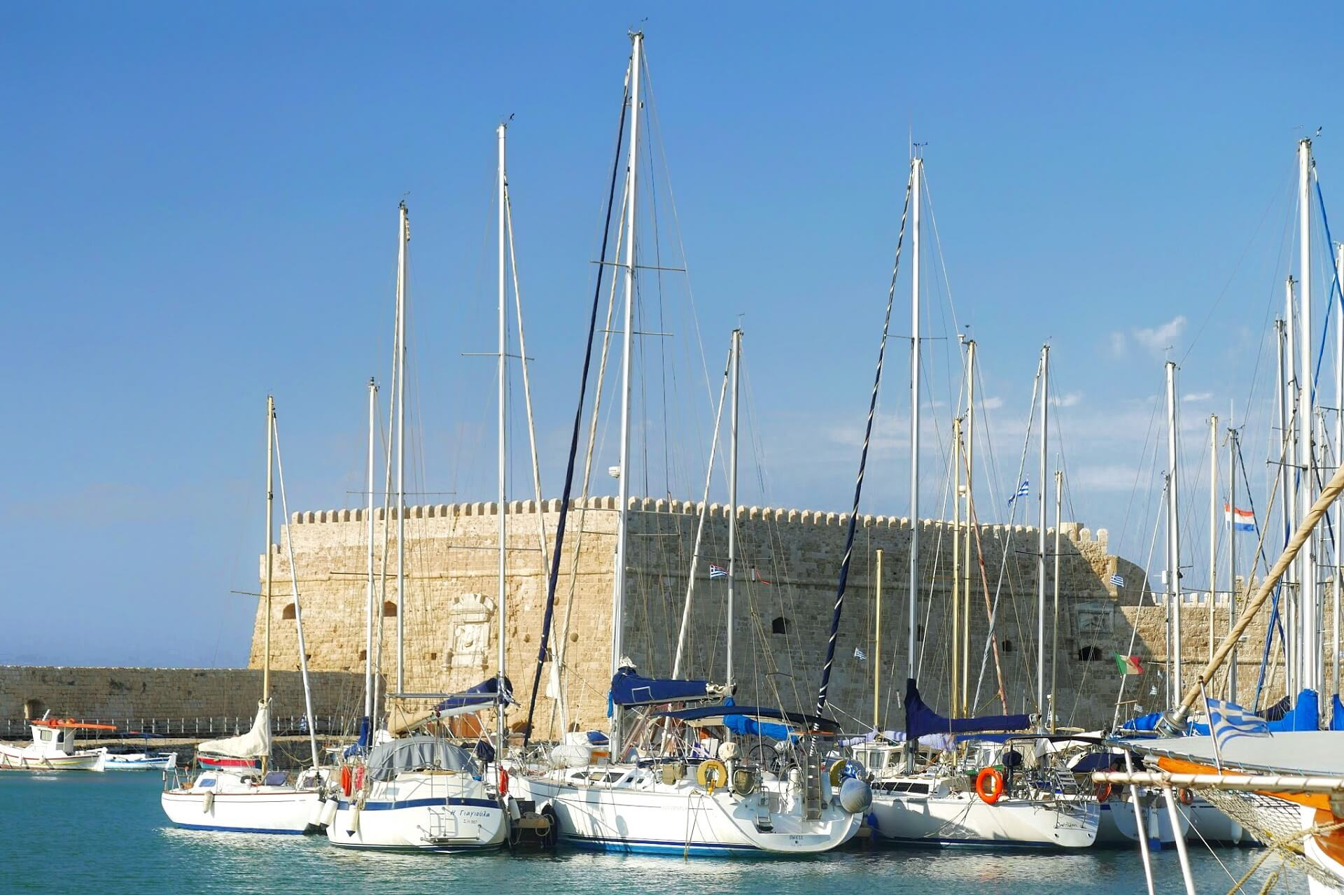 Heraklion Harbour Heraklion Crete
