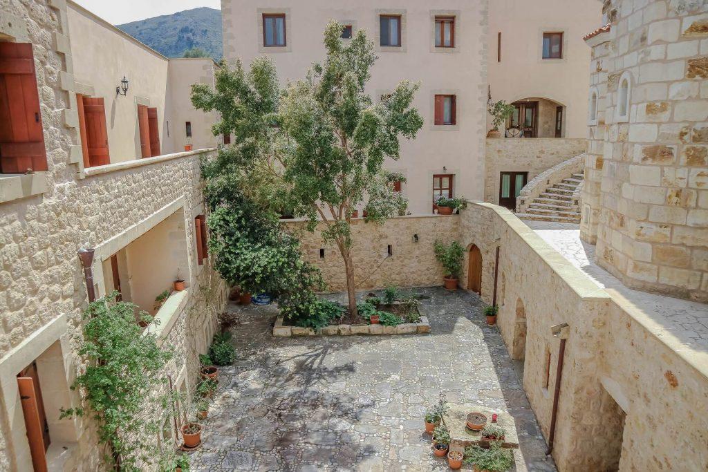 Metamorfosis Monastery Chania Crete - allincrete.com