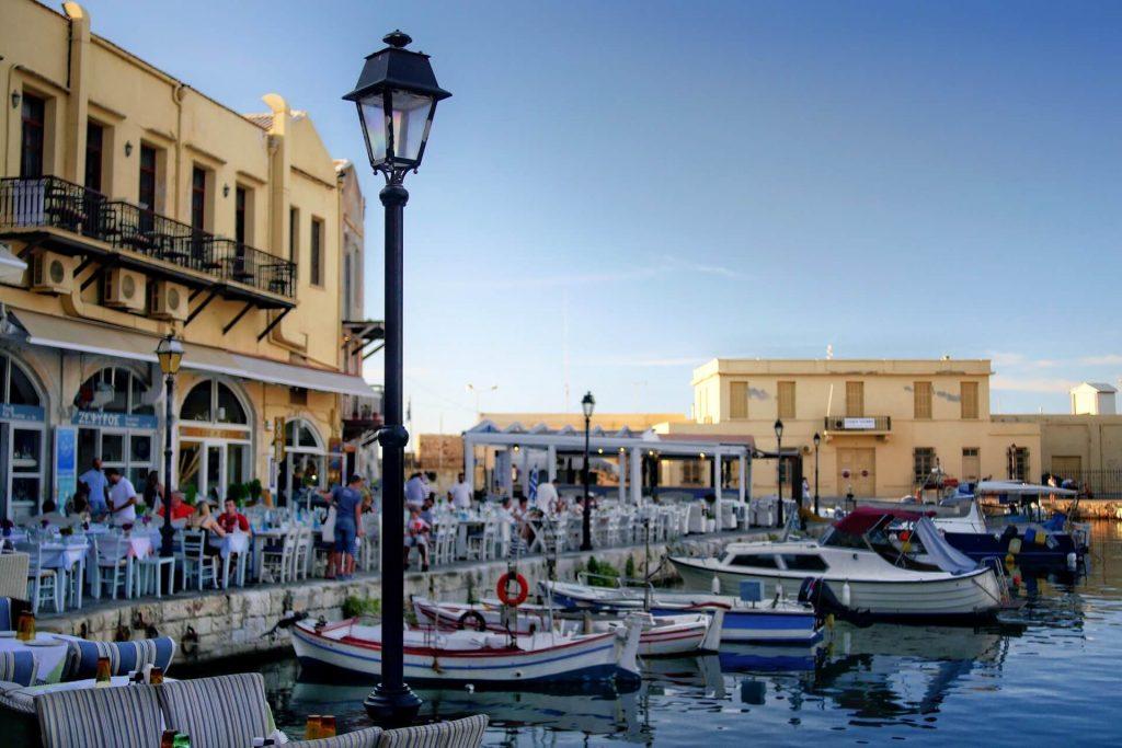 Rethymno Old Venetian Harbour Crete