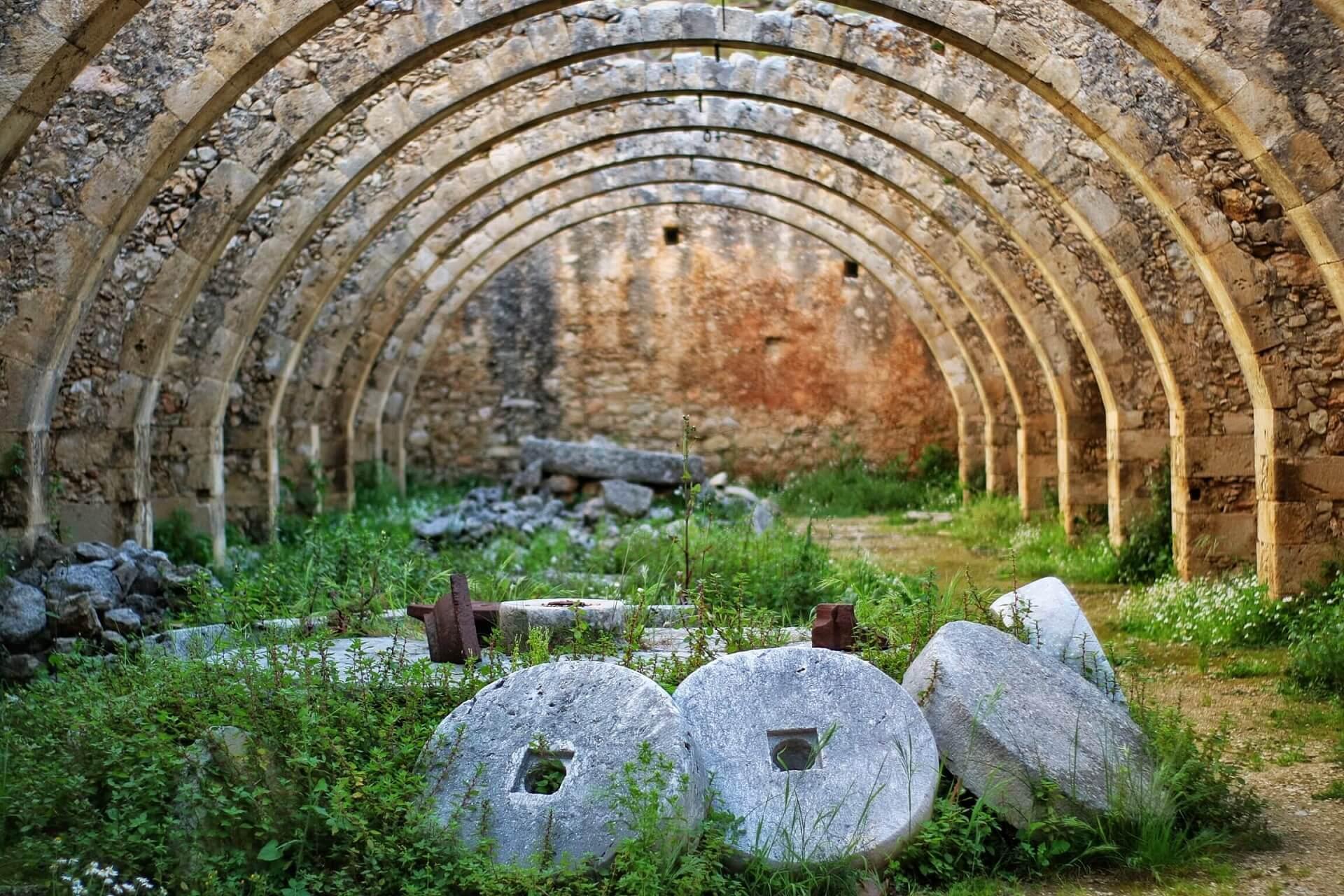 Saint George Selinari Monastery Chania Crete