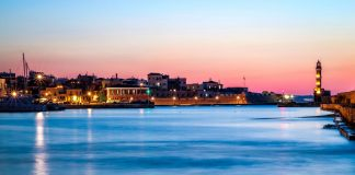 Venetian Port Chania Crete