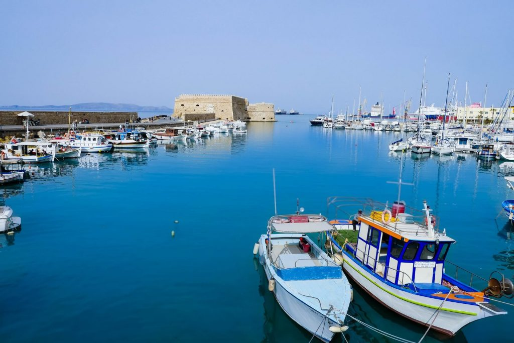 Heraklion Harbour Koules Fortress Crete - allincrete.com
