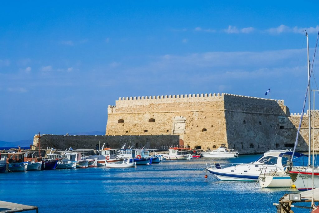 Koules Fortress Heraklion Crete - allincrete.com