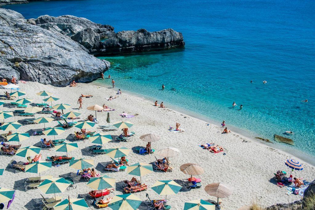 Ammoudaki Beach Rethymno Crete - allincrete.com