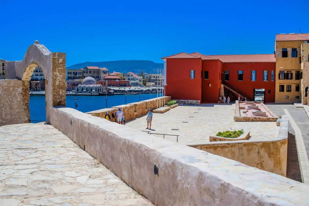 Firkas Fortress Chania Crete - allincrete.com