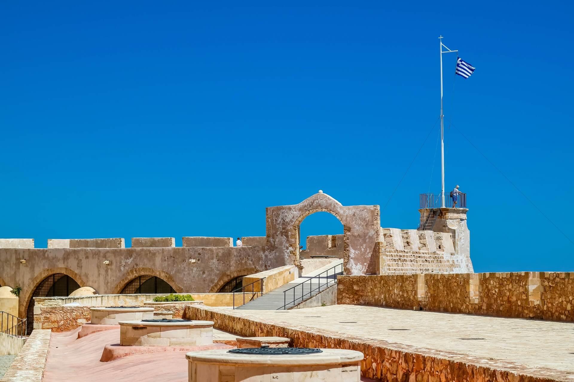 Firkas Fortress Chania Crete - allincrete.com
