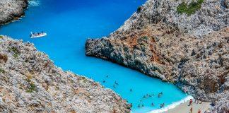 Seitan Limani Beach Chania Crete - allincrete.com