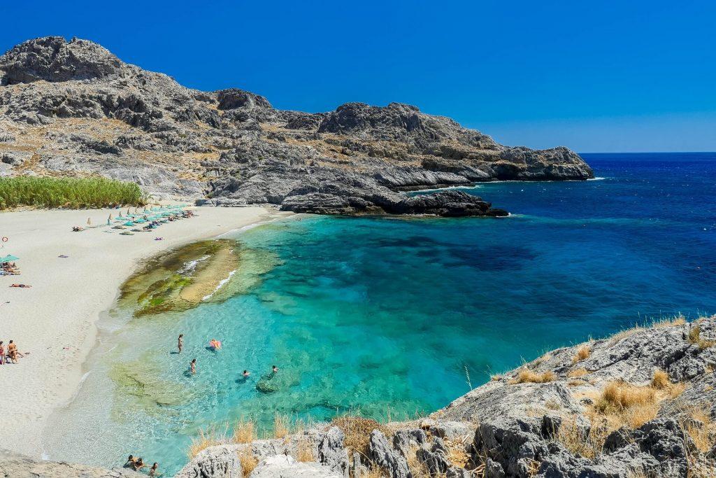 Ammoudi Beach Plakias Rethymno Crete - allincrete.com