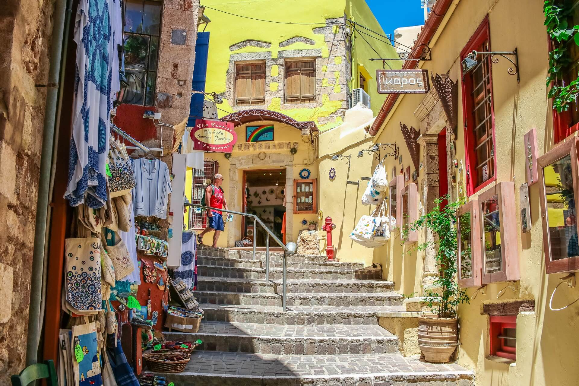 Chania Old Venetian Town Crete - allincrete.com