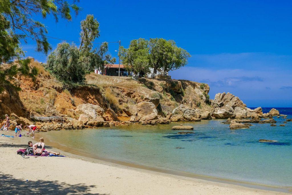 Agioi Apostoloi Beach Chania Crete - allincrete.com
