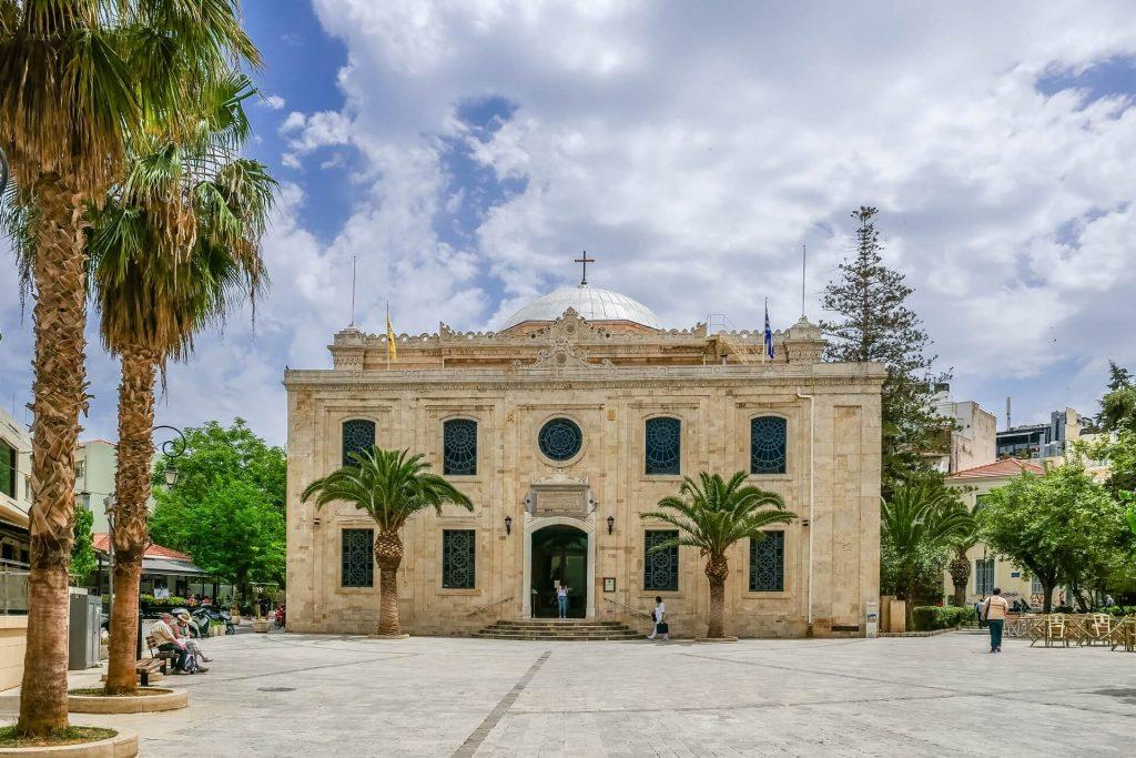 Agios Titos Church Heraklion Crete - allincrete.com