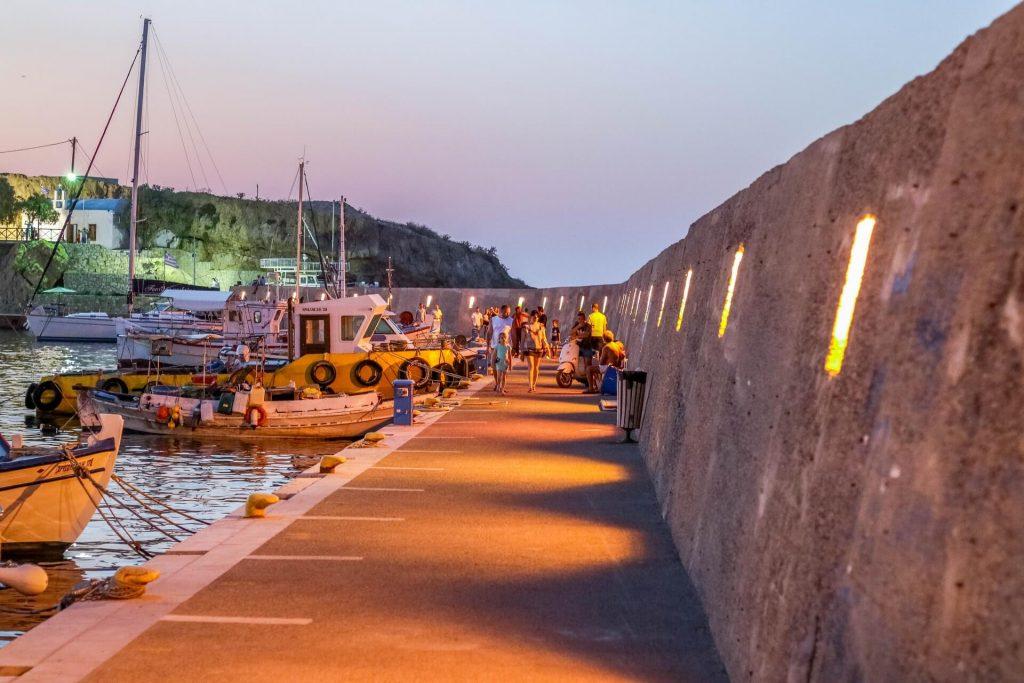 Hersonissos Harbour (Limenas Hersonissou) Heraklion Crete - allincrete.com
