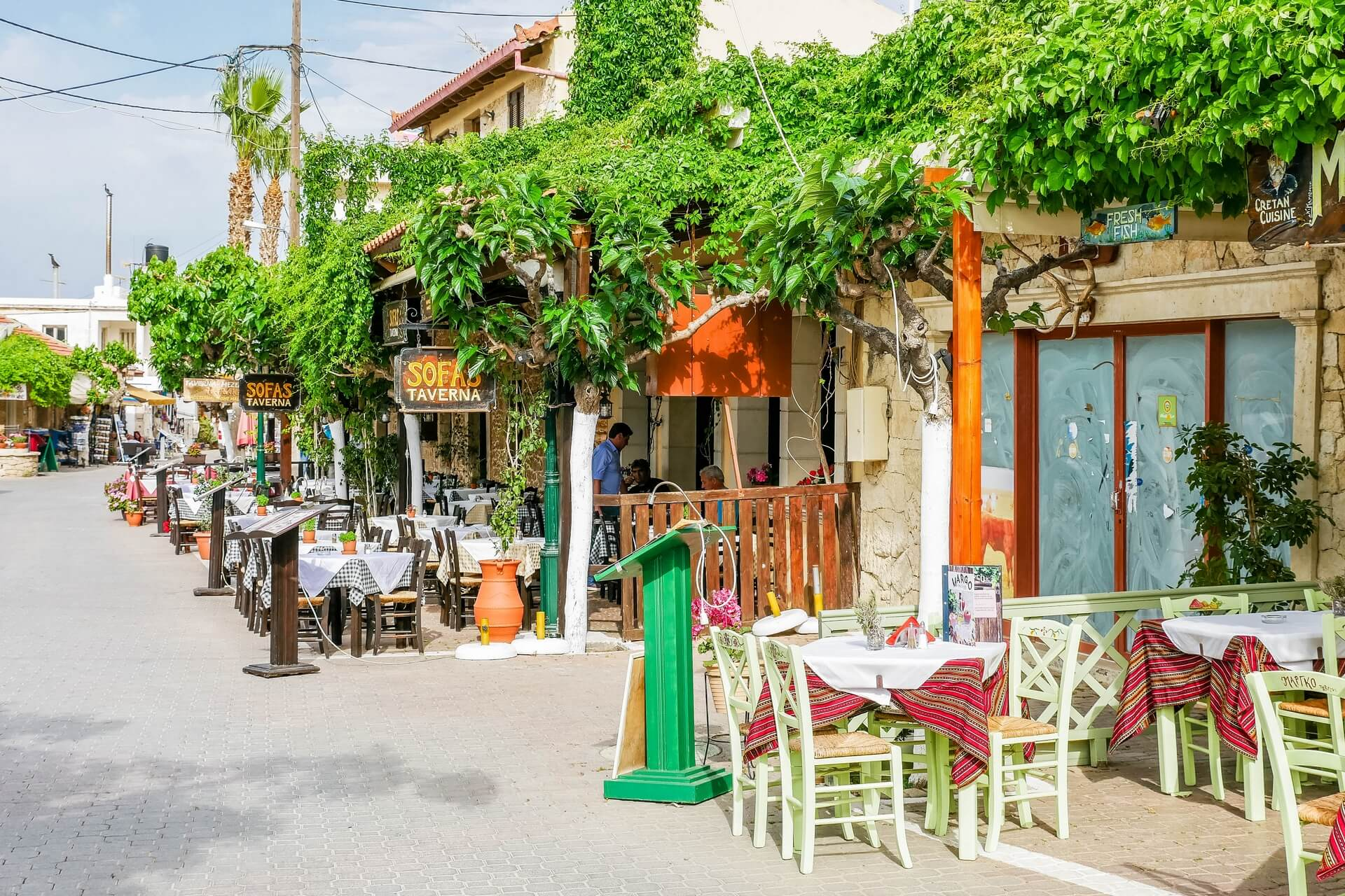 Hersonissos Village Heraklion Crete - allincrete.com