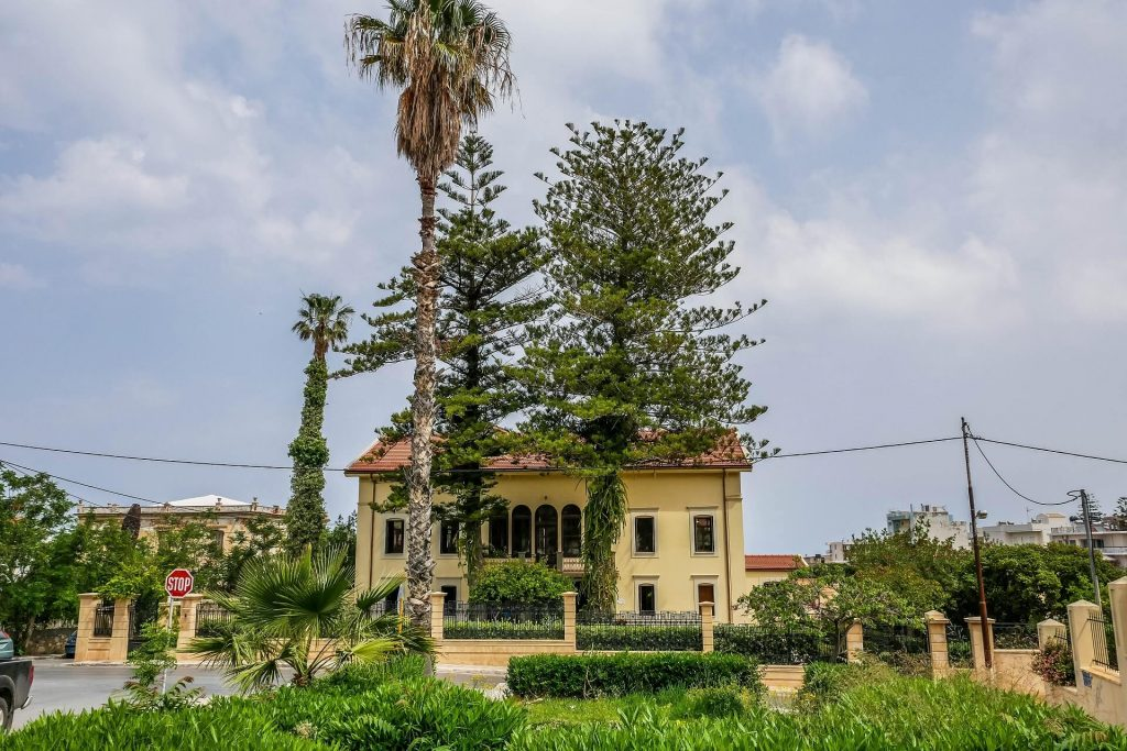 Residence of Eleftherios Venizelos Museum Chania Crete - allincrete.com