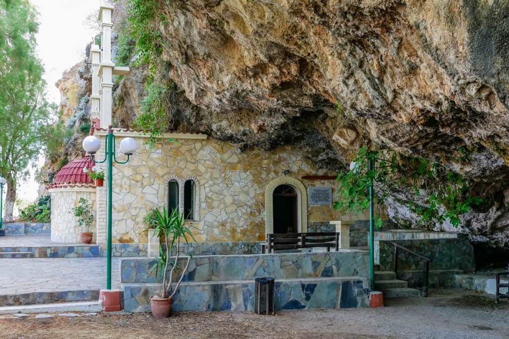 Agios Ioannis Saint John Damialis Church and Cave Chania - allincrete.com
