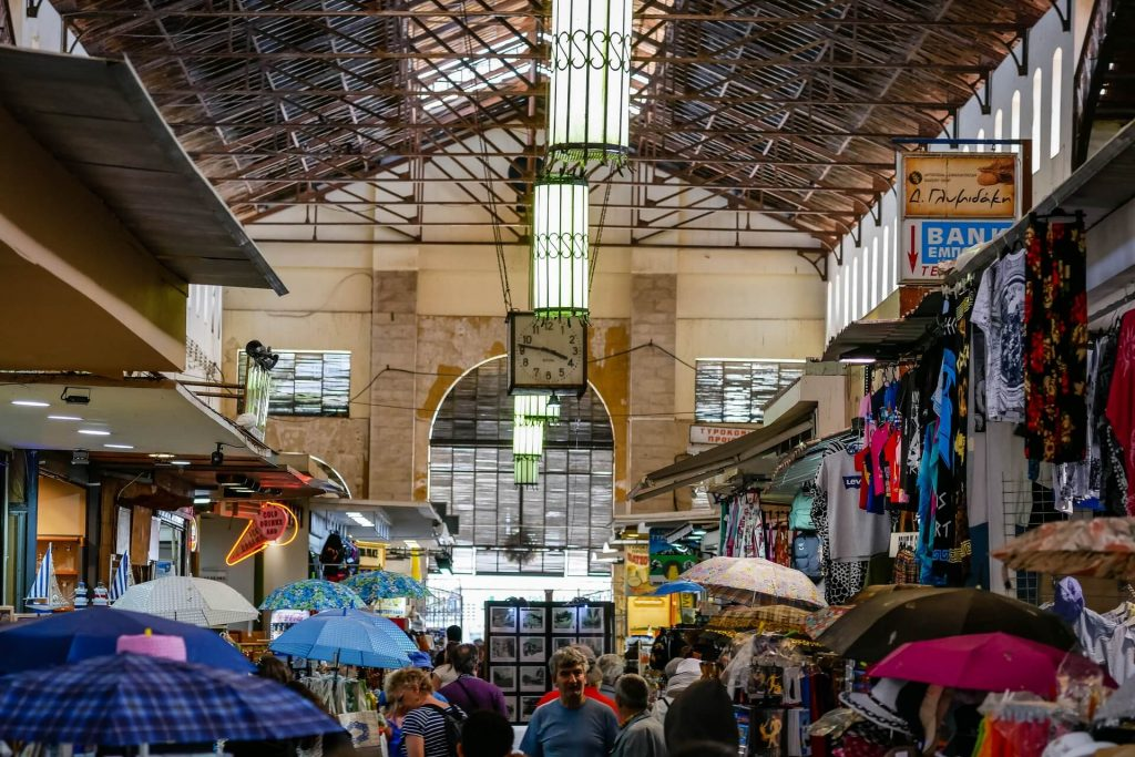 Chania Municipal Market Crete - allincrete.com