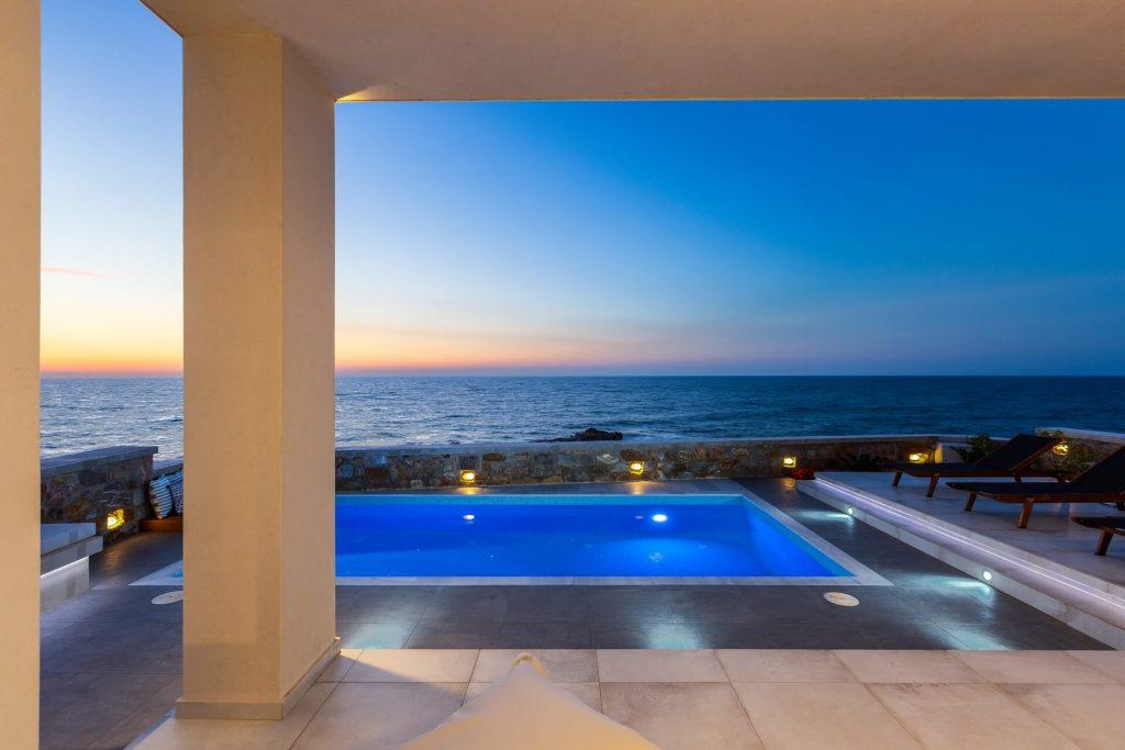 Etherial Villa Rethymno Crete - allincrete.com