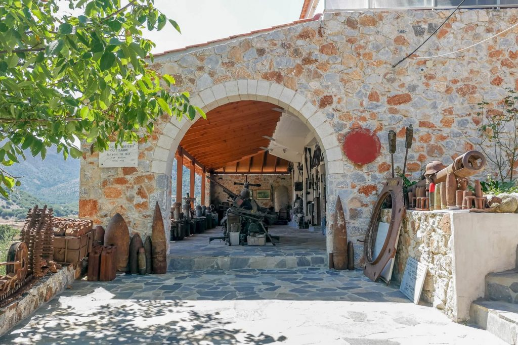 Askifou War Museum Chania Crete - allincrete.com