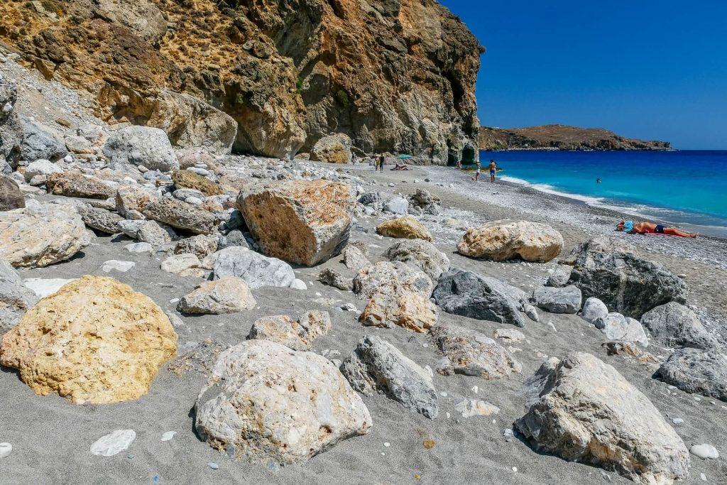 Ilingas Beach Chania Crete - allincrete.com